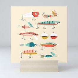 Fishing Lures Mini Art Print