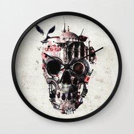 Istanbul Skull Wall Clock