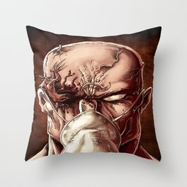Demon Eye Throw Pillow