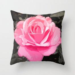 Dawning Rose Throw Pillow
