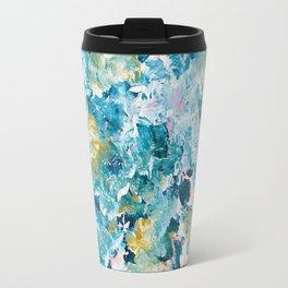 Sunday Sweet Spot Abstract Painting Travel Mug