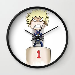 1st Place Winner! Wall Clock