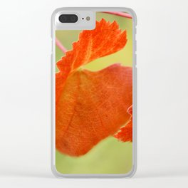 Fall... in love Clear iPhone Case
