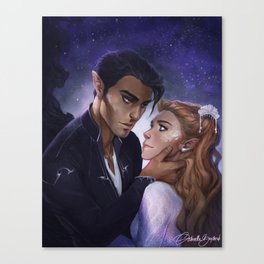 Darkness and Starlight Canvas Print