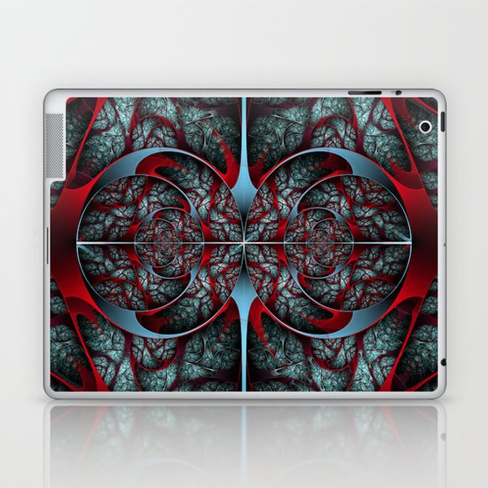 Red Revolver Laptop & iPad Skin