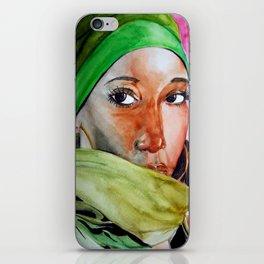 african Eyes iPhone Skin