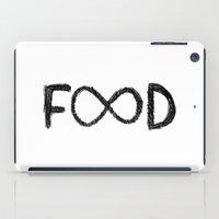 food iPad Cases featuring FOOD by Sara Eshak
