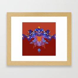 Toon Rorschach I Framed Art Print