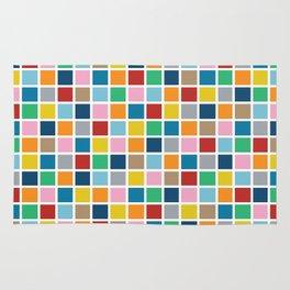 Colour Block Outline Rug