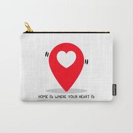 Home is where your heart is Carry-All Pouch