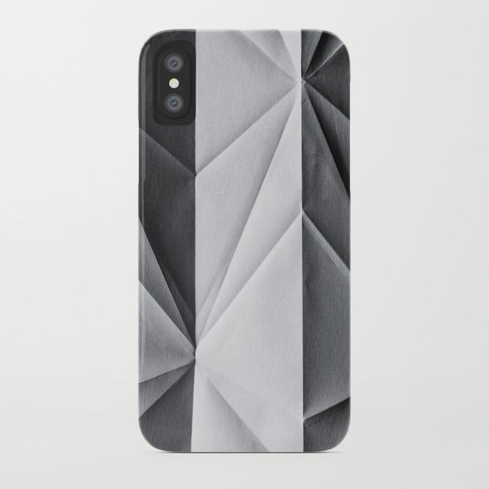 Folded Paper 1 iPhone Case