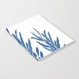 Eucalyptus Branches Blue Notebook