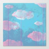 cloud Canvas Prints featuring Cloud  by Tony Vazquez