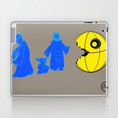 Thats no moon its a... oh hell run!! Laptop & iPad Skin