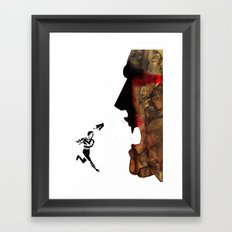 Blade vs the world Framed Art Print