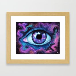 We Are All Made Of Stardust Framed Art Print