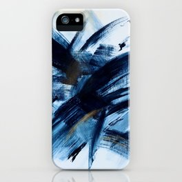 Independance - Abstract painting by Caroline D.  iPhone Case