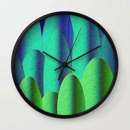 Green Hedges Wall Clock