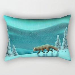 Snowy Fells Rectangular Pillow