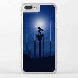 Final Fantasy inspired art Clear iPhone Case