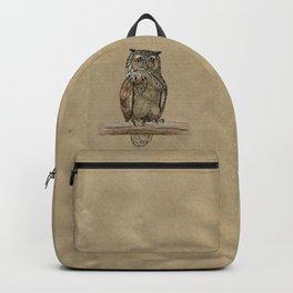 Paper Bag Owl Backpack