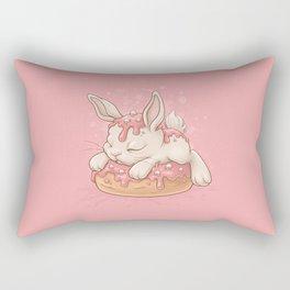 Donut Bunny Rectangular Pillow
