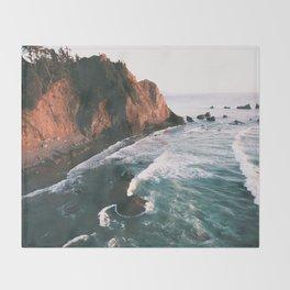 Oregon Coast V Throw Blanket