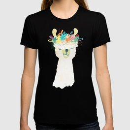 Llama Goddess T-shirt