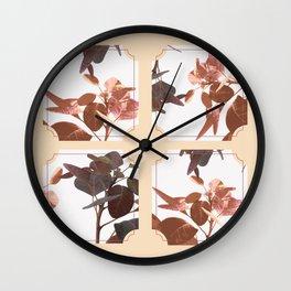 Art Deco Pastel Wall Clock