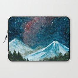 Starlit mountains Laptop Sleeve
