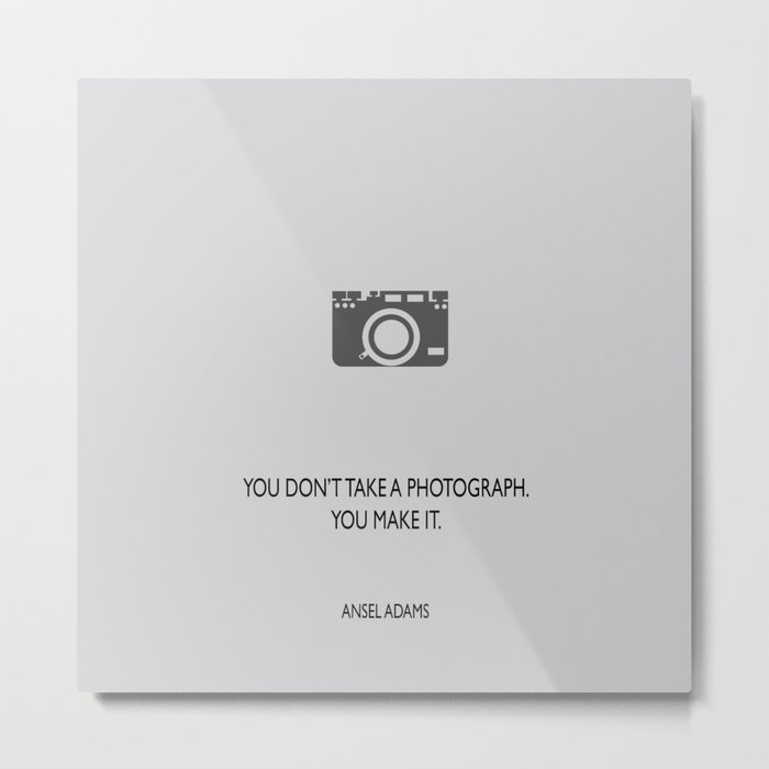 Make a photograph Metal Print