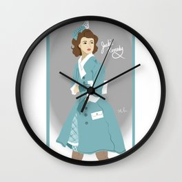 Jackie Kennedy Wall Clock