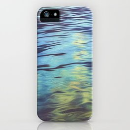 Austrian Lake Water Art iPhone Case