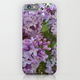 Lilac ~ Periwinkle iPhone Case
