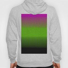 Wave Design Pink & Green Hoody