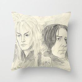 Magick Lives Forever Throw Pillow