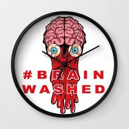 Brain Washed Wall Clock