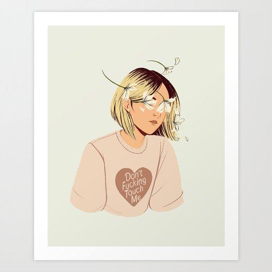 Flower Boy 01 Art Print