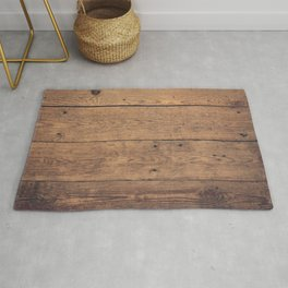 Wooden pattern Rug