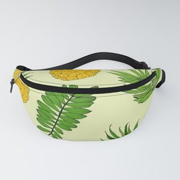 Pineapple Upside Down Party Pattern Fanny Pack