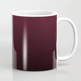 Burgundy Wine Ombre Gradient Coffee Mug