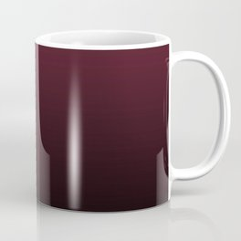 Burgundy Wine Ombre Gradient Coffee Mug
