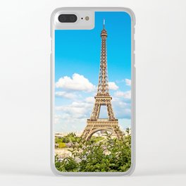 Cloud 9 - Eiffel Tower Clear iPhone Case