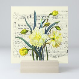 Daffodil Spring Song Mini Art Print