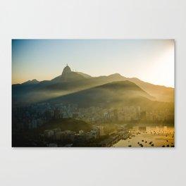 Sunset à Rio Canvas Print