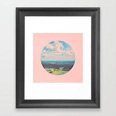 Earthy Pink Framed Art Print
