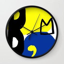Bacchus Wall Clock