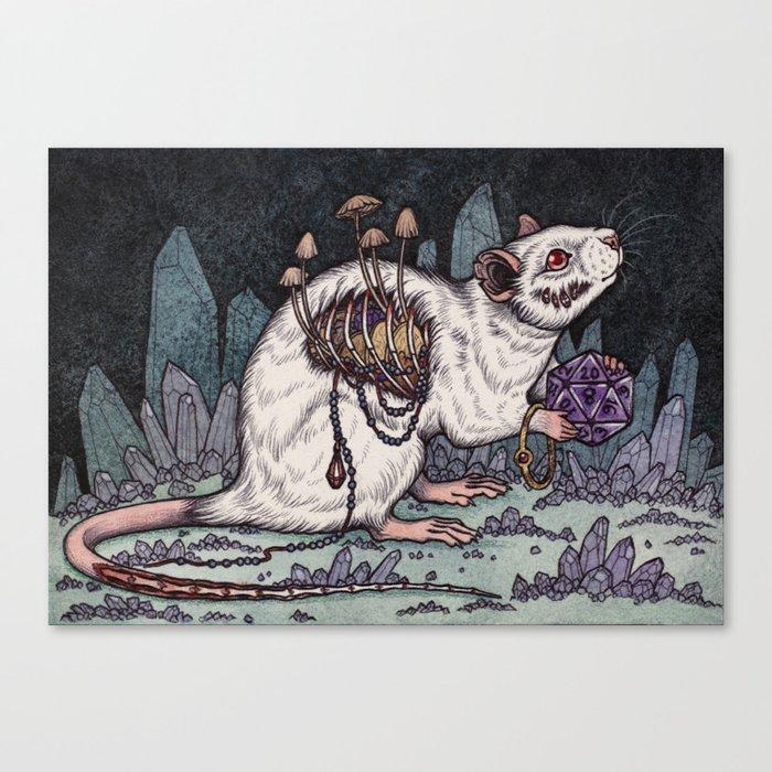 Sorcerer's Familiar Canvas Print