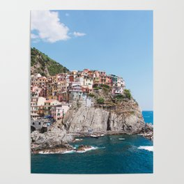 Cinque Terre | Italy City Travel Landscape Coastal Photography Poster