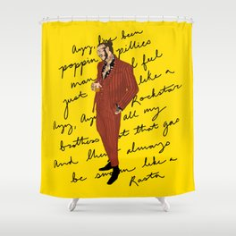 Posty Shower Curtain